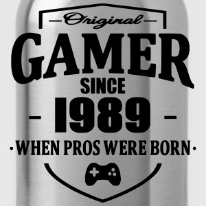 Gamer Since 1989 Magliette - Borraccia