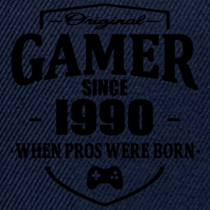 Gamer Since 1990 Tee shirts - Casquette snapback