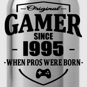 Gamer Since 1995 Magliette - Borraccia