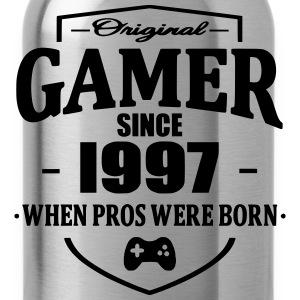 Gamer Since 1997 T-shirts - Drinkfles