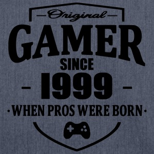 Gamer Since 1999 T-Shirts - Schultertasche aus Recycling-Material