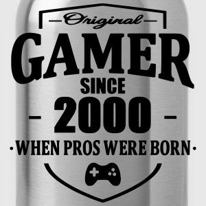 Gamer Since 2000 Magliette - Borraccia