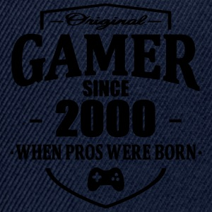 Gamer Since 2000 Tee shirts - Casquette snapback