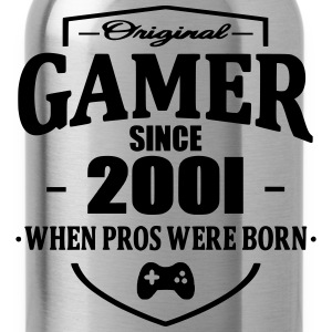 Gamer Since 2001 T-Shirts - Trinkflasche