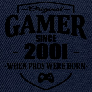 Gamer Since 2001 T-Shirts - Snapback Cap