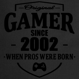 Gamer Since 2002 T-shirts - Förkläde