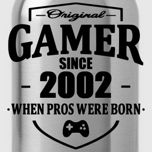 Gamer Since 2002 Magliette - Borraccia
