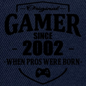 Gamer Since 2002 Tee shirts - Casquette snapback