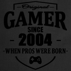 Gamer Since 2004 T-shirts - Keukenschort