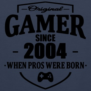 Gamer Since 2004 T-Shirts - Männer Premium Tank Top