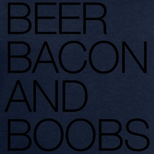 Beer, Bacon and Boobs T-Shirts - Men's Sweatshirt by Stanley & Stella