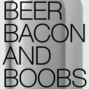 Beer, Bacon and Boobs T-Shirts - Water Bottle