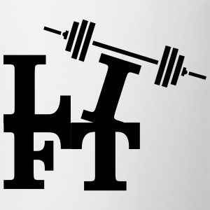 Lift (Weights) Camisetas - Taza