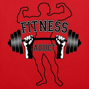 fitness addict 01 Tee shirts - Tote Bag