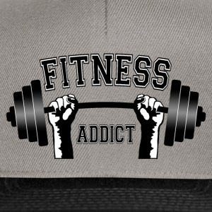 fitness addict 02 Sweat-shirts - Casquette snapback