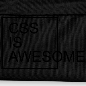 CSS Is Awesome  T-shirts - Rugzak voor kinderen