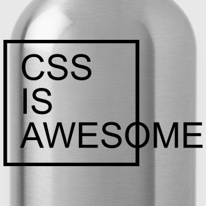 CSS Is Awesome  Camisetas - Cantimplora