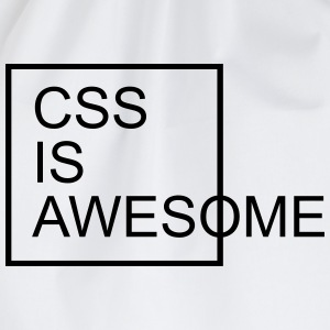 CSS Is Awesome  Sweatshirts - Sportstaske