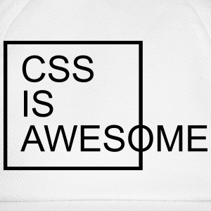 CSS Is Awesome  Tröjor - Basebollkeps