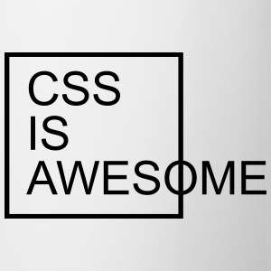 CSS Is Awesome  Sweatshirts - Kop/krus