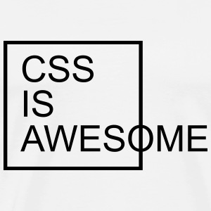 CSS Is Awesome  Gensere - Premium T-skjorte for menn
