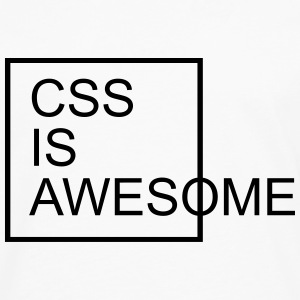 CSS Is Awesome  T-Shirts - Men's Premium Longsleeve Shirt