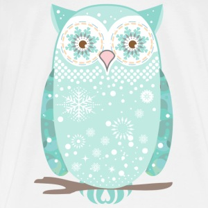 A snow owl Other - Men's Premium T-Shirt