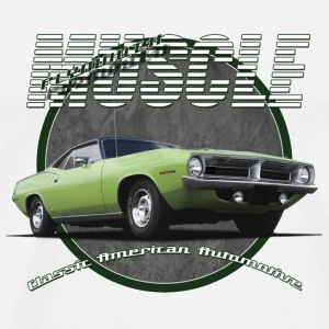 Coasters (set of 4) | Plymouth Muscle | Classic Am - Men's Premium T-Shirt