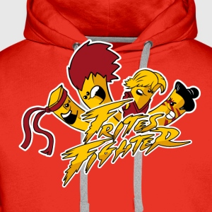 Frites Fighter - Sweat-shirt à capuche Premium pour hommes