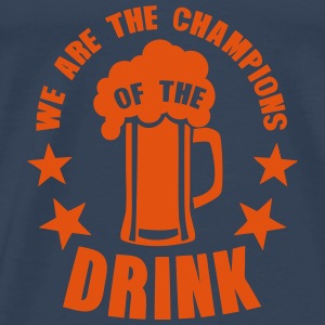 champions of the drink biere Tops - Männer Premium T-Shirt
