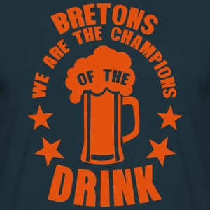 bretons champions of the drink biere Tabliers - T-shirt Homme