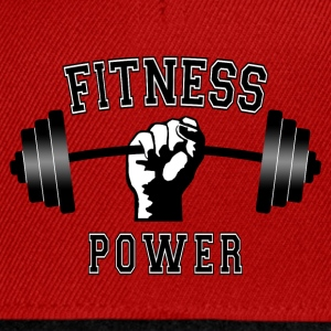 fitness power 01 Sweat-shirts - Casquette snapback