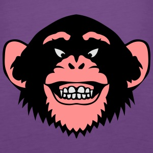 Tier Affe 16107_z Tops - Frauen Premium Tank Top