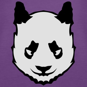 Panda Kopf Tier 16108_z Tops - Frauen Premium Tank Top