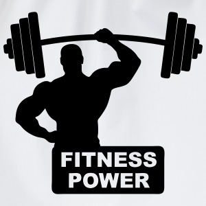 fitness power 02 Tee shirts - Sac de sport léger