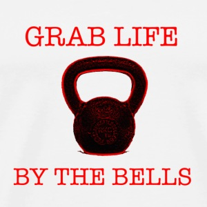 Grab Life By The Bells Mugs & Drinkware - Men's Premium T-Shirt