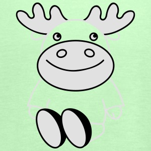 funny moose (b) Hoodies - Women's Tank Top by Bella