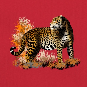 leopard T-Shirts - Retro Bag