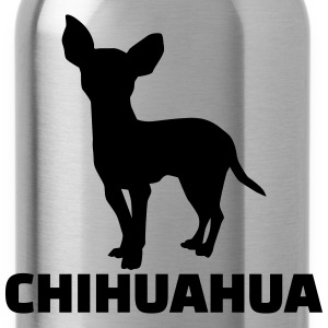 Chihuahua T-Shirts - Trinkflasche