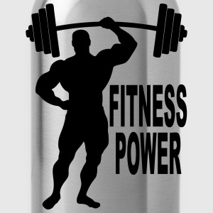 fitness power 03 Hoodies & Sweatshirts - Water Bottle