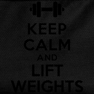 Keep calm lift weights Sweat-shirts - Sac à dos Enfant