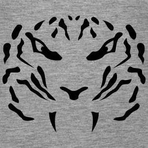 Tigerkopf Tier 16103 Tops - Frauen Premium Tank Top