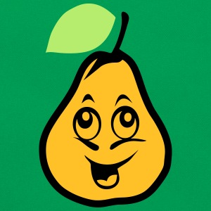 poire smiley fruit 1410 Tee shirts - Sac Retro