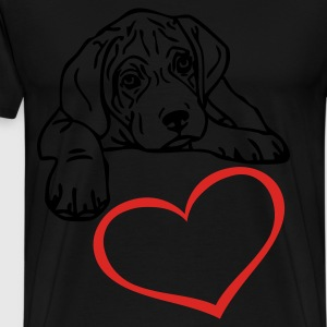 www.dog-power.nl - Mannen Premium T-shirt