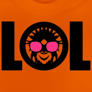 lol singe rigolo laughing out loud Tee shirts - T-shirt Bébé
