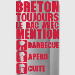 breton mention bac barbecue apero cuite Tee shirts - Gourde