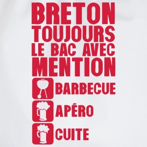 breton mention bac barbecue apero cuite Tee shirts - Sac de sport léger