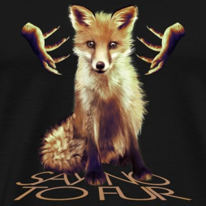 Say no to Fur IV Peluches - T-shirt Premium Homme
