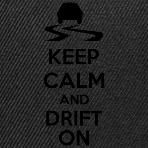 Keep Calm And Drift On T-Shirts - Snapback Cap