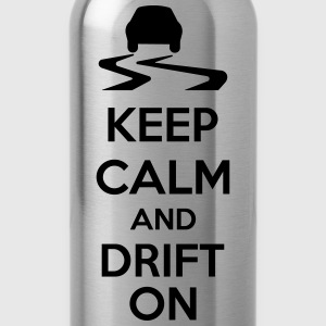 Keep Calm And Drift On Sudaderas - Cantimplora